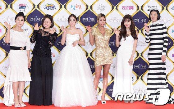 UNNIES《姊姊們的灌籃》KBS 演藝大賞 紅毯