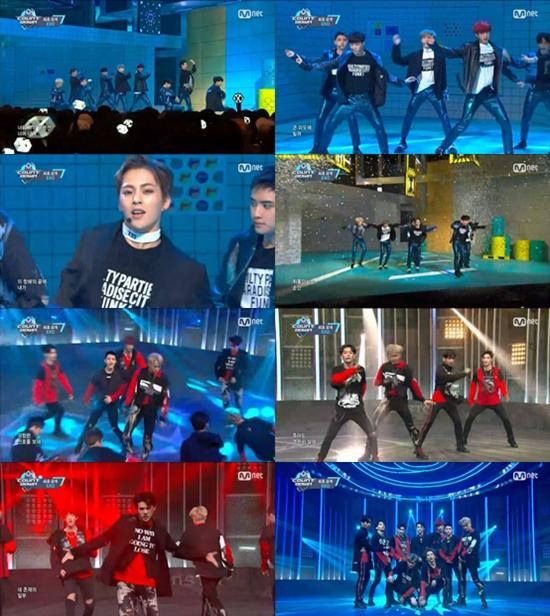 【影片】EXO為《M COUNTDOWN》獻出《Monster》、《Lucky One》處女秀