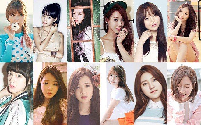 惠美、保亨、So Jung、U-Ji、Kei、旼宰、承姬、SeungHee、珍率、多願、Sung Yeon、So Yeon