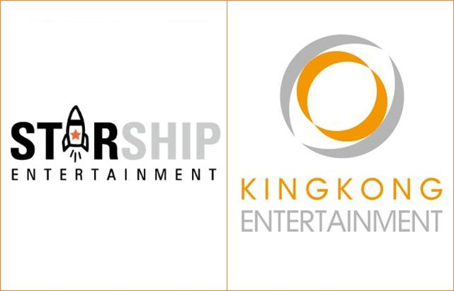 Starship Ent.、KINGKONG Ent.