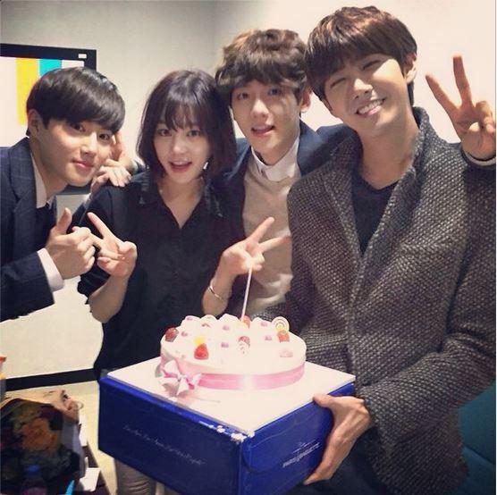 《人氣歌謠》Suho、伯賢、光熙為李侑菲辦離別派對