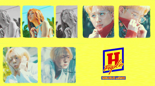 Triple H5月1日出道 泫雅加洲解放辣體