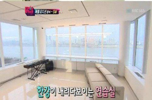 SM Entertainment Headquarter's practice room. / Instiz