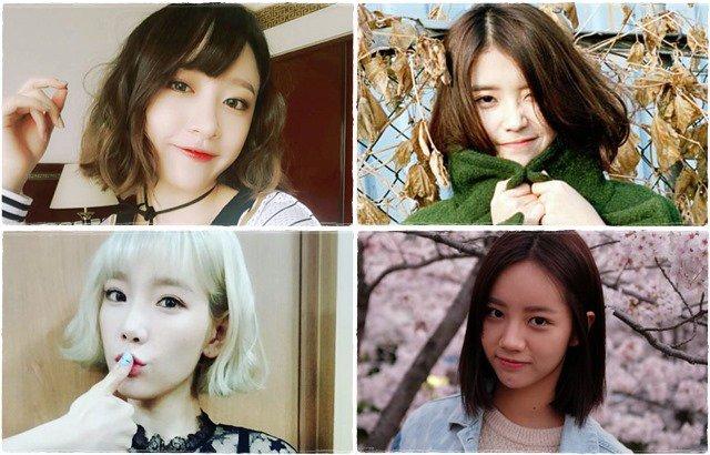 Hani、IU、太妍、惠利