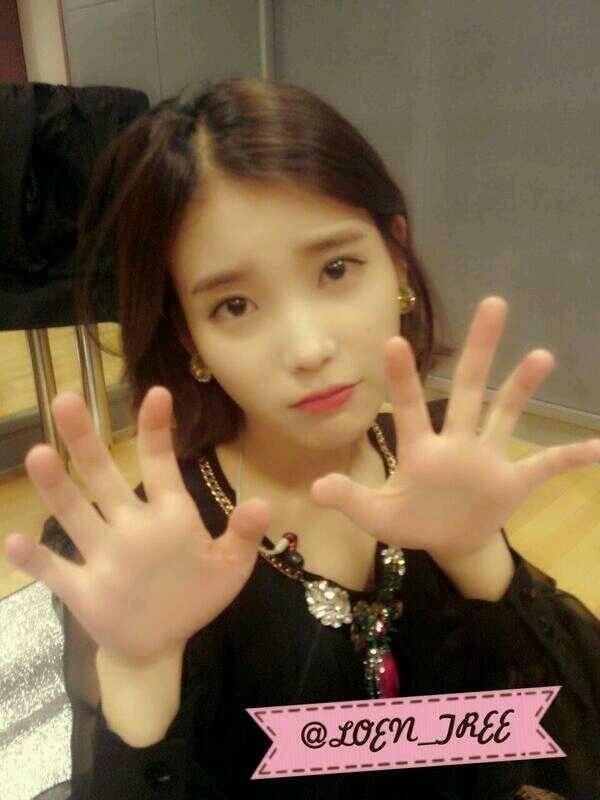 IU hand