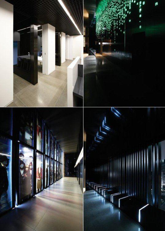 YG Entertainment's main entranceway on the first floor. / Instiz