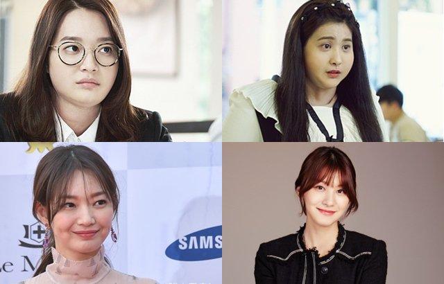 新慜娥、柳仁英 特殊化妝 (來源:KBS、xsportsnews、