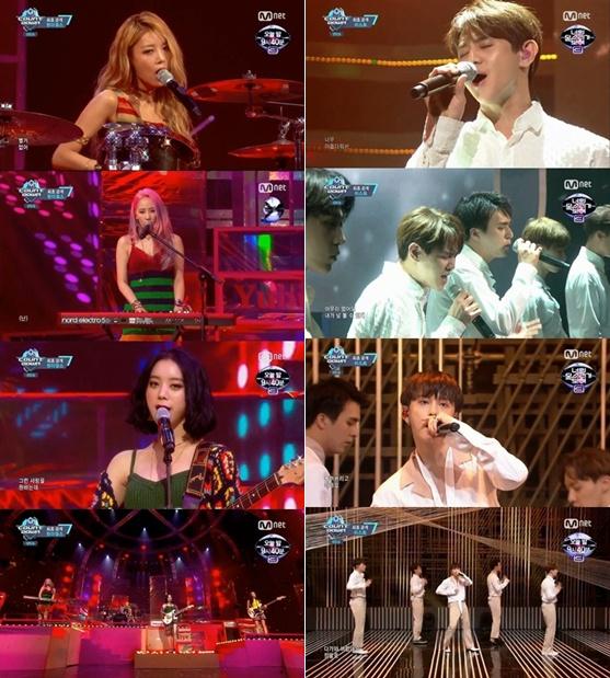 【影片】Wonder Girls、BEAST《M COUNTDOWN》飆唱新歌