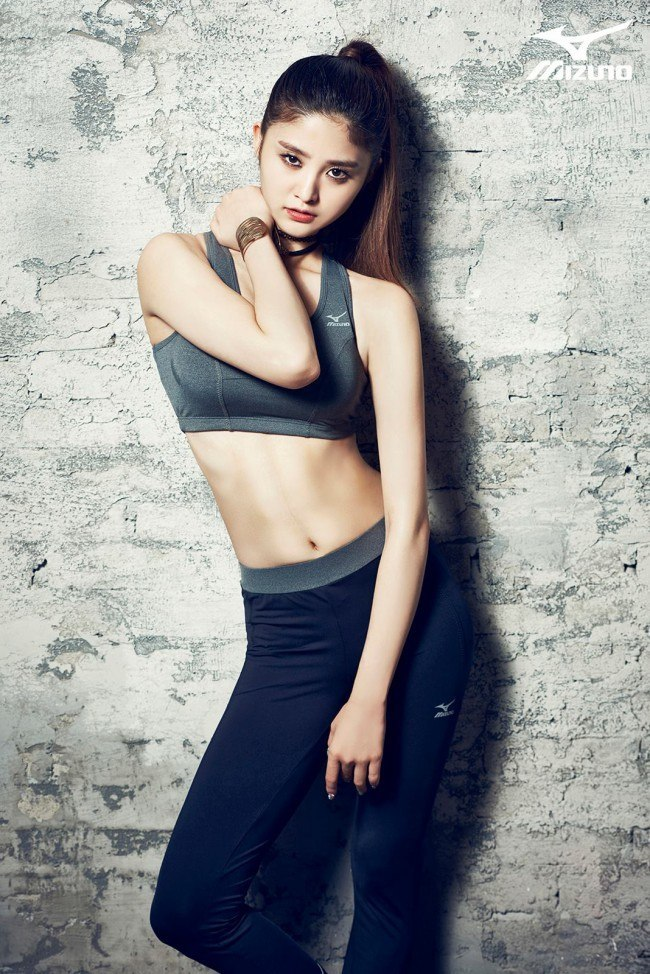 EXID for MIZUNO