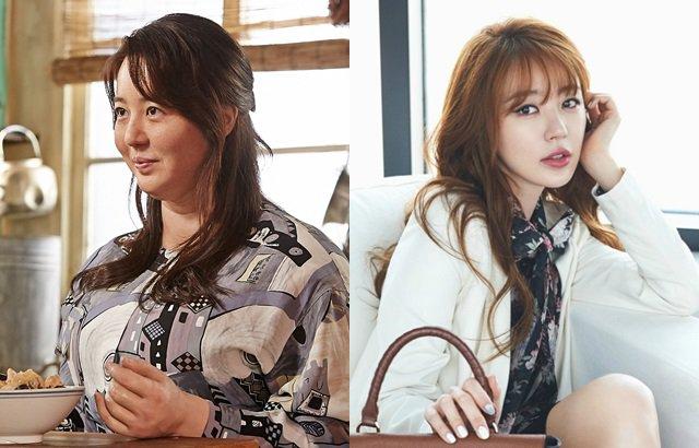 尹恩惠 特殊化妝 (來源:Naver Movie、Samantha Thavasa)