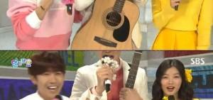 《人氣歌謠》特別MC李光洙的屈辱事件,個子太高攝像機拍不到?