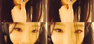 泰妍清純自拍 「為什麼沒有Micky呢?」