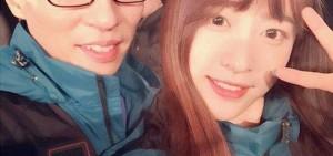 EXID Hani與劉在石留下《Running Man》認證照!