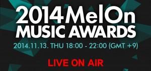 [得獎名單] Melon Music Awards 頒獎典禮 2014