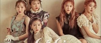 Red Velvet嬌嫩欲滴 古典美人氣質爆發