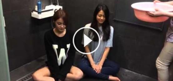 AOA (酉奈 & 雪炫) 冰桶挑戰