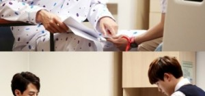 """<沒關係是愛情啊>趙寅成-DO拍攝現場照公開""""十分重要的場面"""