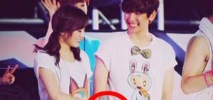 太妍因被懷疑到了EXO的演唱會支持男友Baekhyun,被EXO粉絲在網絡上騷擾