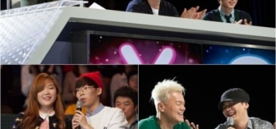 K-POP STAR4首播,樂童音樂家-李夏怡-朴智敏一同應援