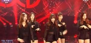 """女子組合EXID獲得「人氣歌謠」冠軍成為""""三冠王"""""""