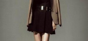 劉仁娜在韓流雜誌《KWAVE》畫報中,炫耀纖瘦筆直雙腿!