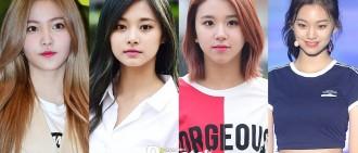 韓國媒體選出生於1999年最美麗的女K-pop idol名單