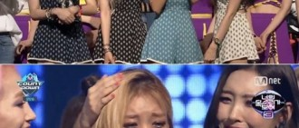 【影片】Wonder Girls《M Countdown》奪冠 婑斌哭成淚人兒
