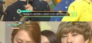 Super Junior D&E《音樂銀行》初一位 成員金希澈也「嗚咽」