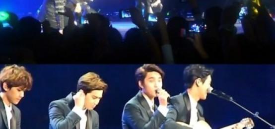 BAP-EXO粉絲,在墨西哥公演中投擲內衣..'導致公演中斷