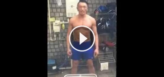 秋成勳 冰桶挑戰