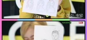 Seul Gi手繪三胞胎 畫筆細膩傳神