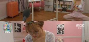 AOA草娥身穿芭蕾服,炫耀凹凸有致身材!