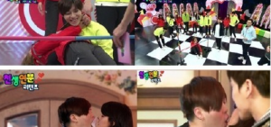 《天生緣分歸來》挑戰情侶遊戲:文熙俊-Fujii Mina意外接吻