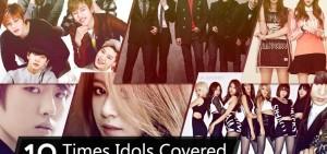 10個演唱其他KPOP IDOL歌曲最多人觀看的片段PART2