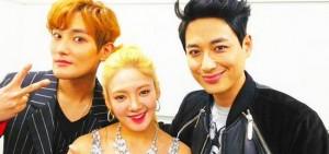 安七炫公開和李誌勛、孝淵參演「不朽名曲」的合照