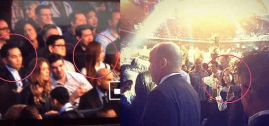 Jessica Jung and Tyler Kwon 被發現一起出現在Pacquiao vs. Algieri 的拳擊