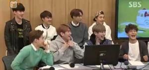EXO成員爆料:燦烈平時睜著眼睛睡覺