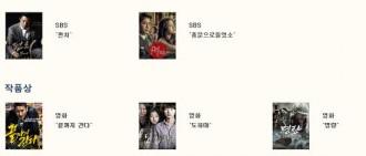 「百想藝術大賞」華麗候選名單公開,「李敏鎬-朴有天-朴信惠 -任時完-李准等入圍!」