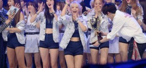 EXID再獲一位 大勢女團3冠王的完美申告式