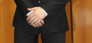 EXO成員Suho的黑色西裝
