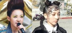 10個2NE1's Sandara Park獨特的髮型