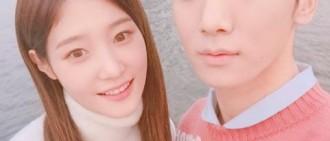 KEY、鄭彩妍假戲真做? 甜笑如熱戀情侶