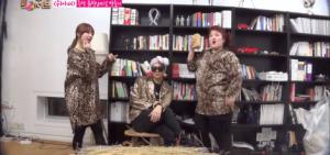"Jackson, 英智, and Lee Gook Joo拍攝的  EXID's ""Up & Down"" MV"