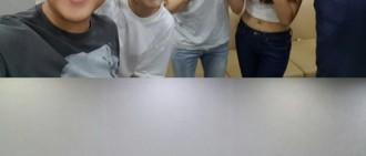 藝琳「Happy Together」出演照片 曹世鎬-劉在錫-全炫茂-率濱 氣氛融洽