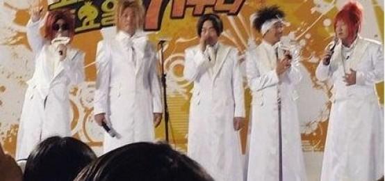 《無限挑戰》成員們變身HOT 高度還原的髮型服裝