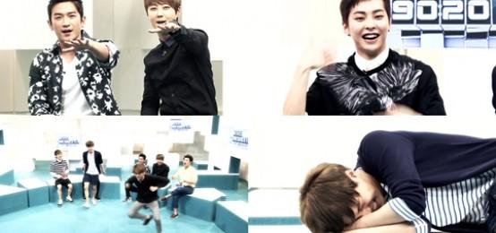 神話做客《EXO 902014》 和EXO翻跳《咆哮》舞蹈