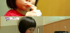 《超人回來了》秋小愛展「元祖吃貨」魅力 喜歡萬歲甚至勝過爸爸?