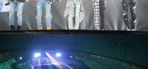 SHINee登上東京巨蛋舞台 10萬粉絲一起狂歡