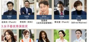 2015年「百想藝術大賞」提名名單公開:李敏鎬-池城-朴信惠-林時完等均入圍