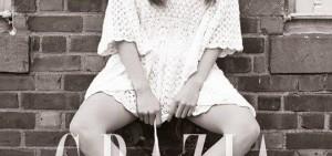 少女時代Tiffany畫報,「尷尬岔腿也如此清純!」